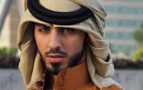 too handsome saudi man