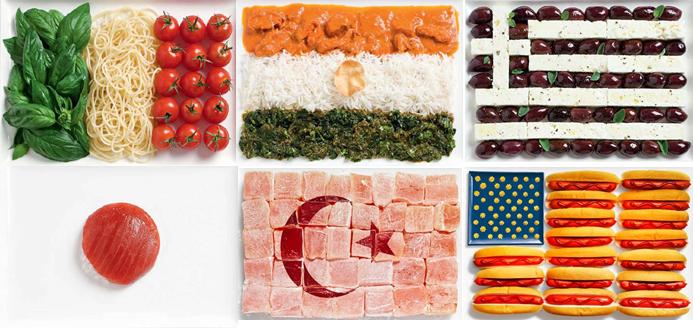 food across cultures, translating regional food