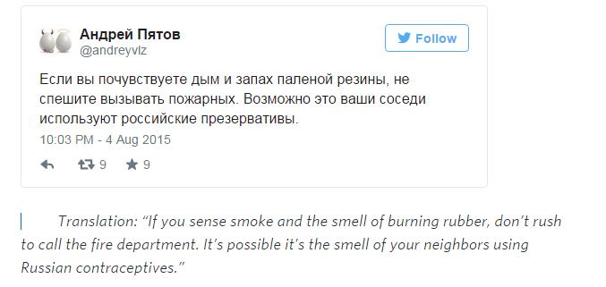 tweet russia taboo