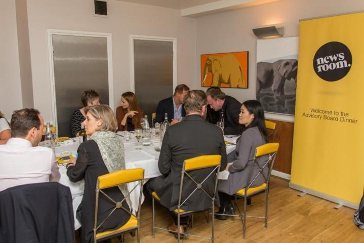 16 Newsroom Advisory Board Dinner on How to Translate global brands to local social by Elliot Polak (FILEminimizer)