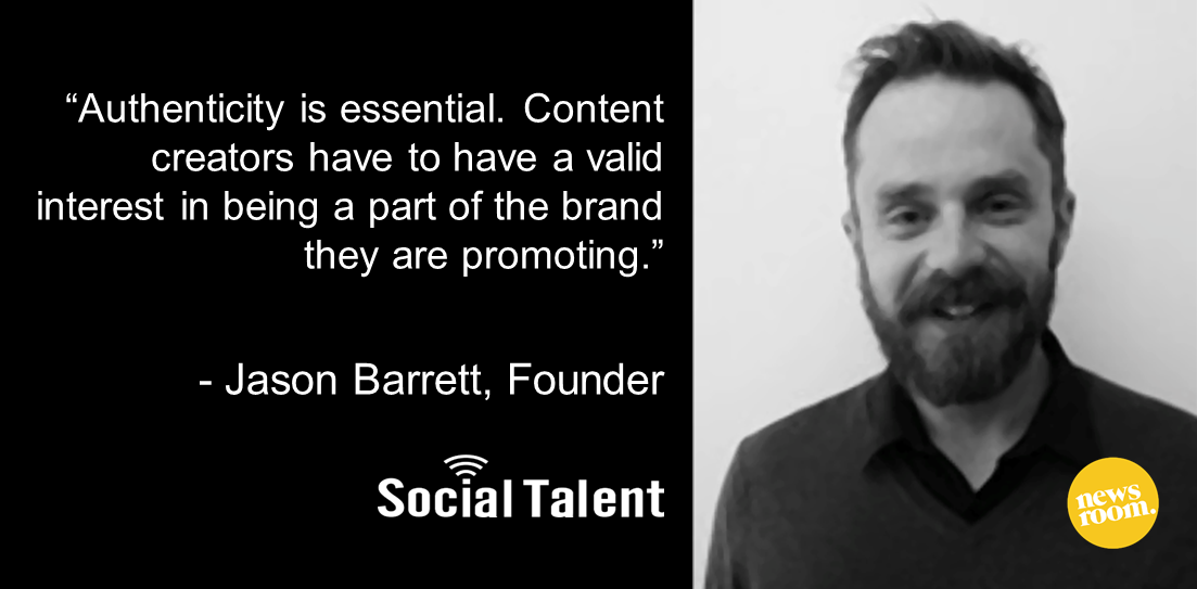 Jason barrett social talent global social media podcast