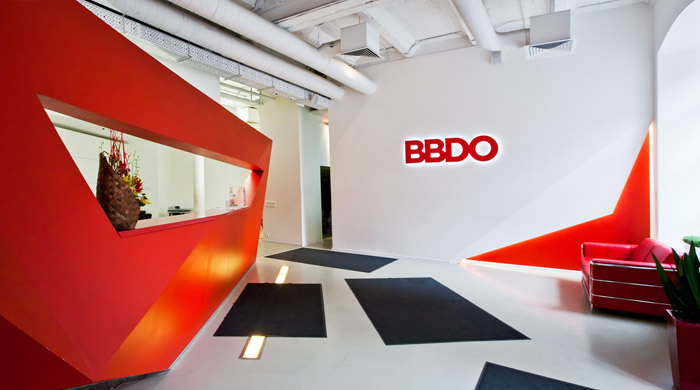New business win bbdo worldwide textappeal for Interior design pr agency