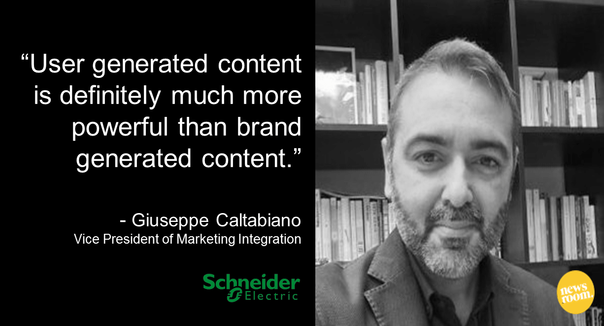 giuseppe Caltabiano quote for Masters and Mavericks in Global Marketing on global content marketing
