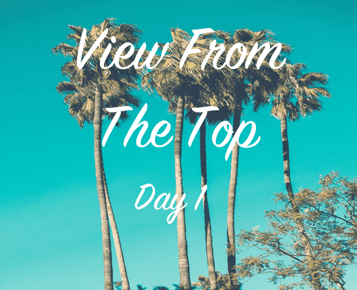 image with the first day of the view from the top podcast series presented by Elliot POlak