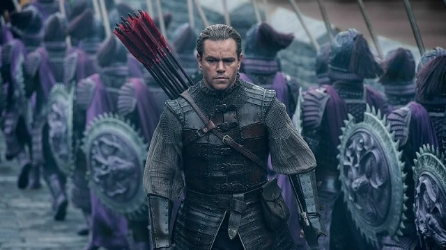 matt damon the great wall vogue diversity