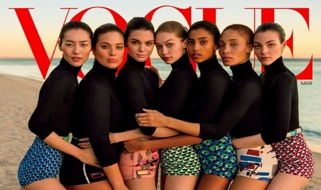 picture representing diversity in vogue magazine