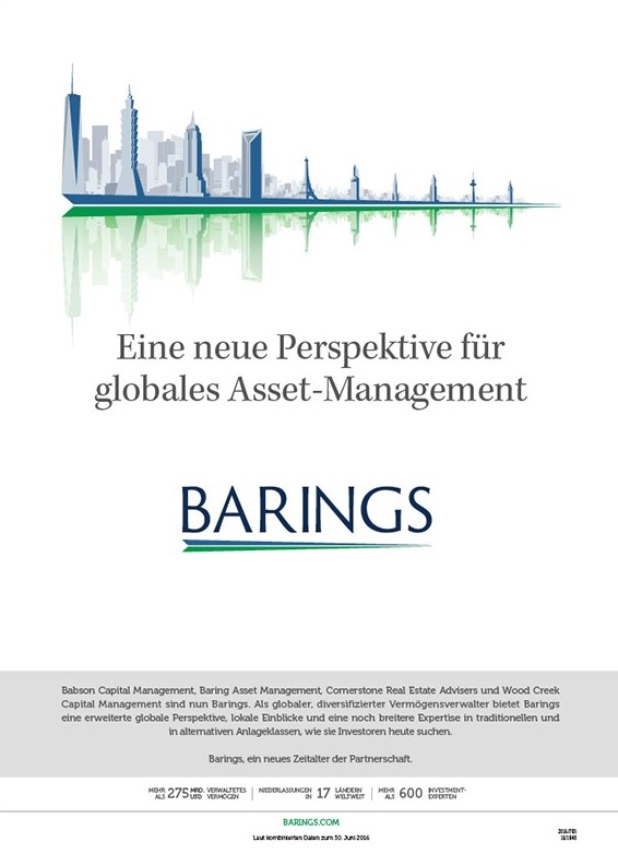 LGA and Textappeal global campaign for Barings - German 2