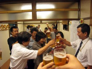 Japanese Culture Facts - kampai celebration in japan