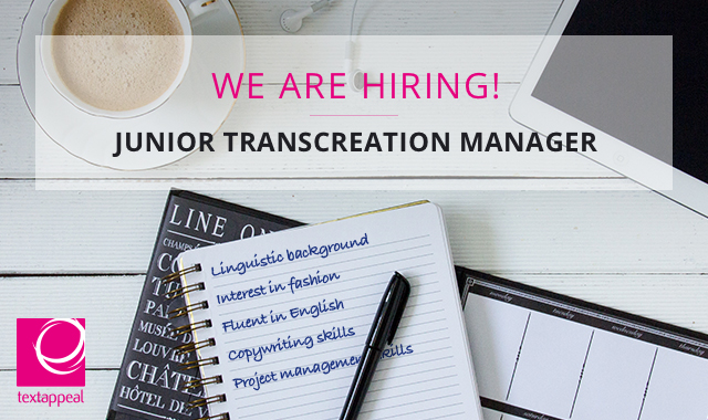 junior translation project manager in London