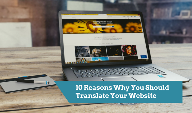10 reasons you should translate your website
