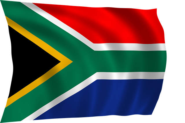 colours in advertising - red colour in south africa - southafrican flag