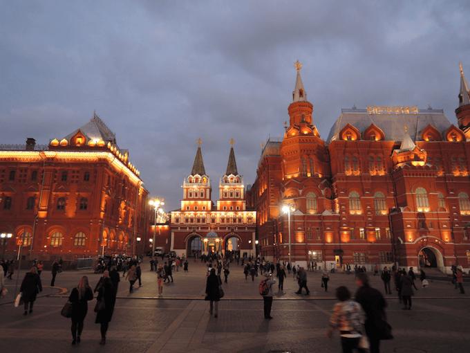 russian square