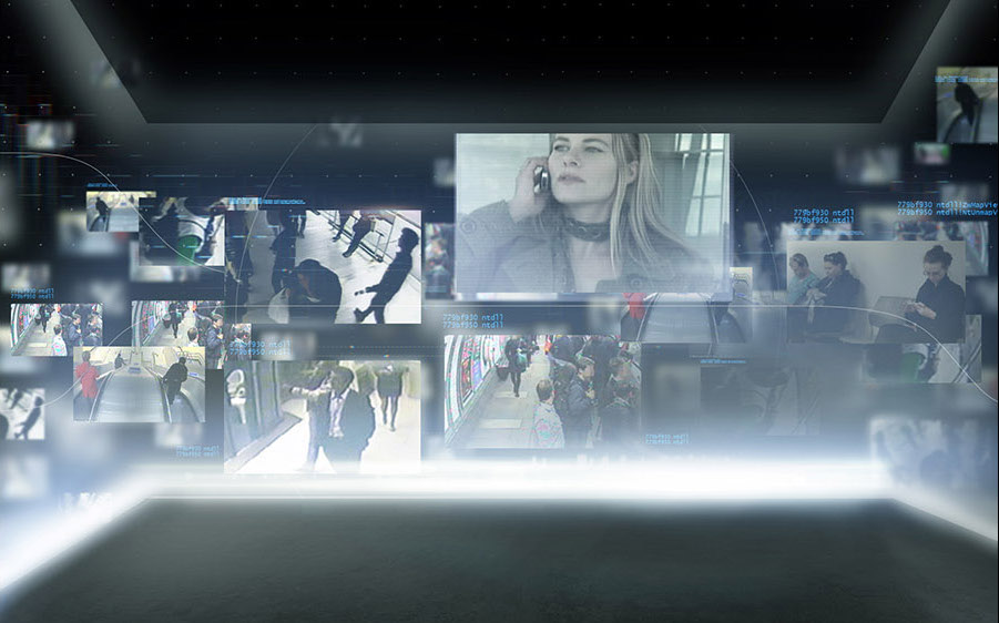 image of interactive lift at skyscape transcreated by textappeal